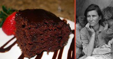 Learn to make a Great Depression era cake