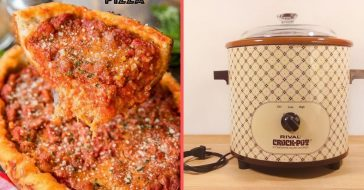 Make pizza and other 1970s recipes in the slow cooker