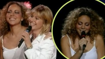 Mariah Carey Surprisingly Joins Olivia Newton-John For _Hopelessly Devoted To You_