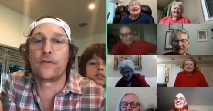 Matthew McConaughey hosts virtual bingo for seniors
