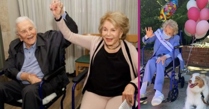 Michael Douglas Wishes Stepmom Anne Buydens A Happy 101st Birthday