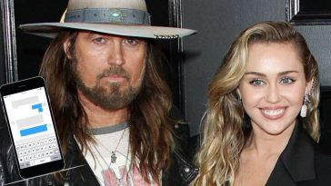 Miley Cyrus Teases Dad Billy Ray Cyrus For Not Knowing How To Use An iPhone