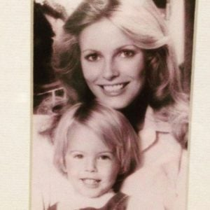 Mother and daughter already resemble one another