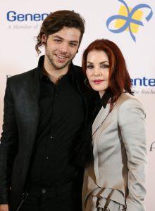 Navarone Garibaldi is the second child of Priscilla after Lisa Marie Presley