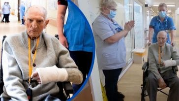 Nurses Applaud 99-Year-Old WWII Vet After He Beats Coronavirus
