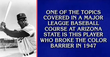 One contestant's reply had all of Twitter cringing when she claimed Babe Ruth broke the color barrier instead of Jackie Robinson