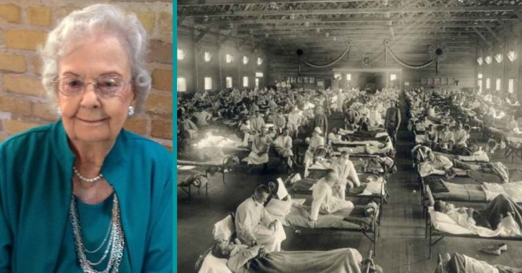 Over a hundred years ago, the 1918 influenza took another family member