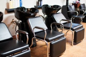 People cannot get their hair coloring treatment now that salons are closed
