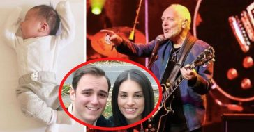 Peter Frampton Is A Grandfather! Daughter Jade Frampton Shares Photo Of Newborn Baby Girl