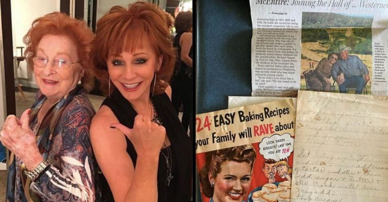 Reba McEntire Finds Nostalgic Items From Her Parents' And Grandparents' Past
