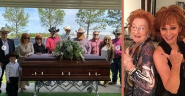 Reba McEntire Shares Photos From Her Mother's Funeral