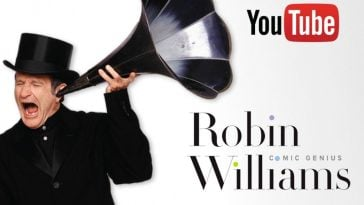 Revisit memories and learn about a comedic legend with the new Robin Williams YouTube channel