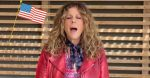 Rita Wilson performs the National Anthem after recovering from coronavirus