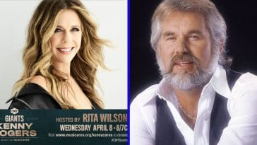 Rita Wilson will host CMT Kenny Rogers special benefit show
