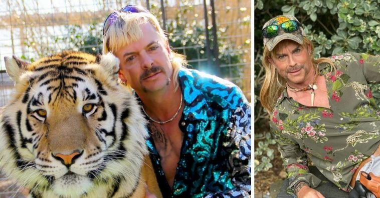Rob Lowe dresses up as Netflix star Joe Exotic