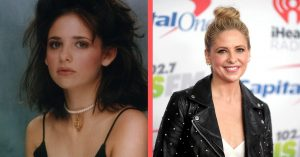Sarah Michelle Gellar brought the drama to the set then brought herself eternal fame