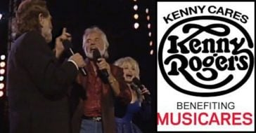 See Kenny Rogers, Dolly Parton, & Willie Nelson Perform _Lean On Me_ Together