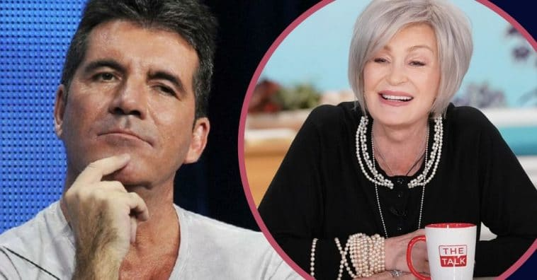 Sharon Osbourne Reveals That Simon Cowell Doesn't Like Overweight People