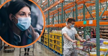 Starting in May, anyone going to Costco who is able to wear a mask must have one on