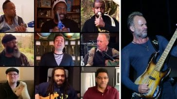 Sting Jimmy Fallon and The Roots remix Dont Stand So Close To Me