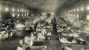The 1918 Spanish influenza pandemic took millions of lives, including that of Ryan's sister, whom she never met
