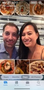 The couple went to Coconuts for a celebratory meal that ended up dislodging the ring