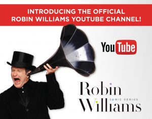 Time Life and the Robin Williams Estate have partnered to make an official YouTube channel for the late comedian