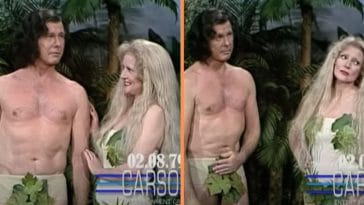 WATCH_ Betty White & Johnny Carson As Adam & Eve On 'Johnny Carson's Tonight Show' In 1979