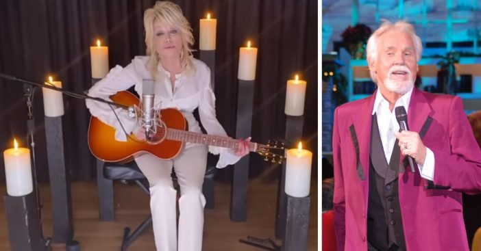 Watch Dolly Partons tribute to the late Kenny Rogers