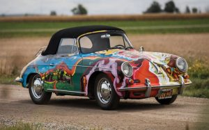 While some magnificent cars became unused icons, Joplin actually rode in hers