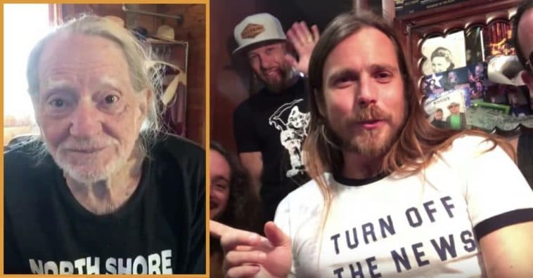 Willie Nelson And His Son Want You To Share 'Good News' From Your Community