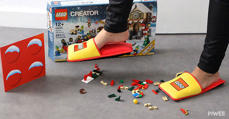 anti lego slippers available in france