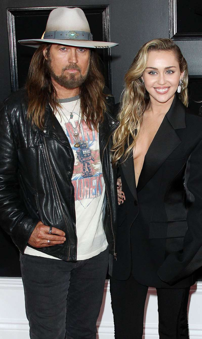 miley cyrus teases billy ray cyrus for not knowing how to use an iphone