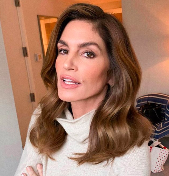 cindy crawford intimidated meeting princess diana