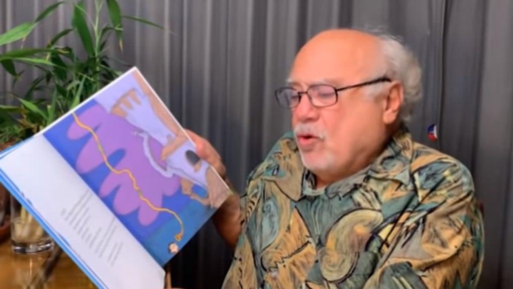 danny devito reading the lorax earth day