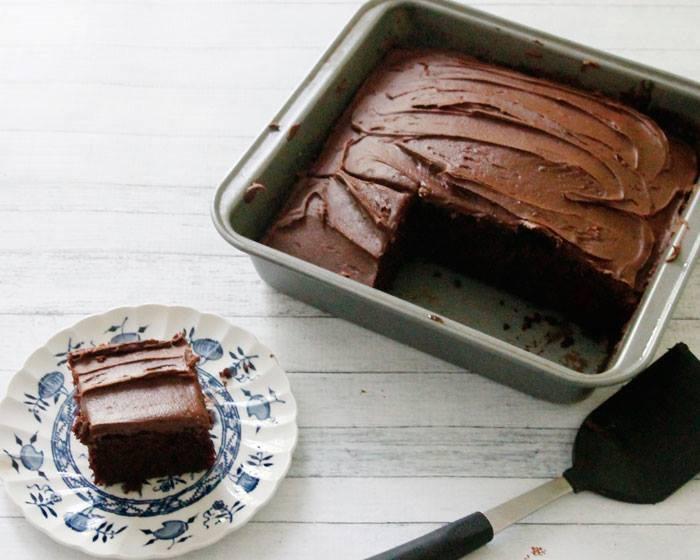 depression cake recipe