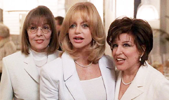 the first wives club bette midler goldie hawn diane keaton