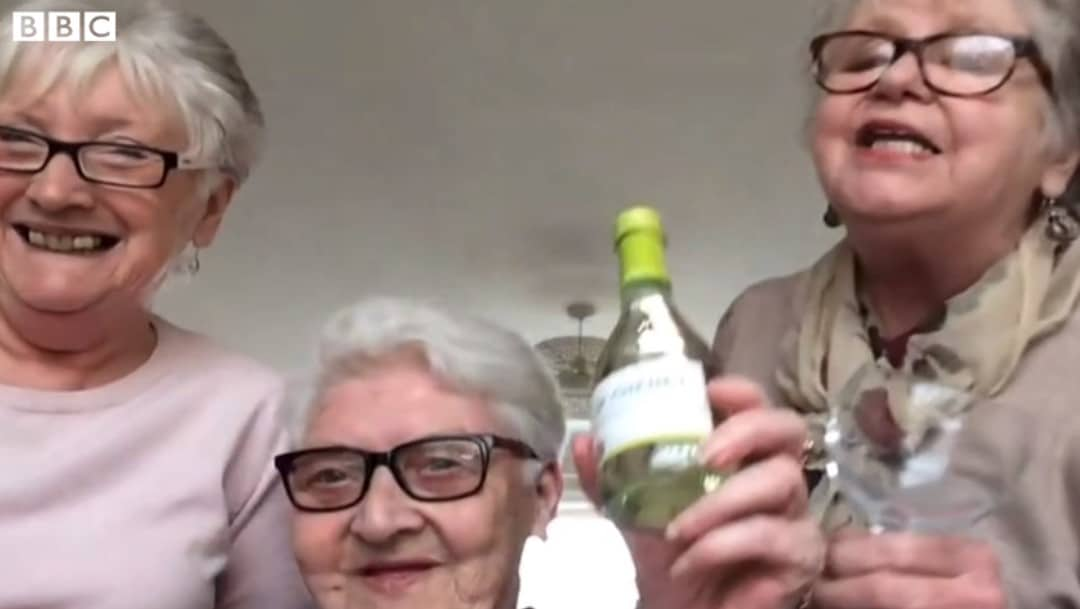 real life golden girls wine interview