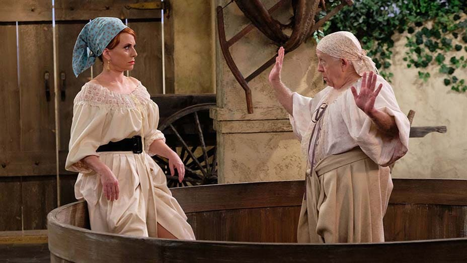 grape stomping episode will and grace i love lucy
