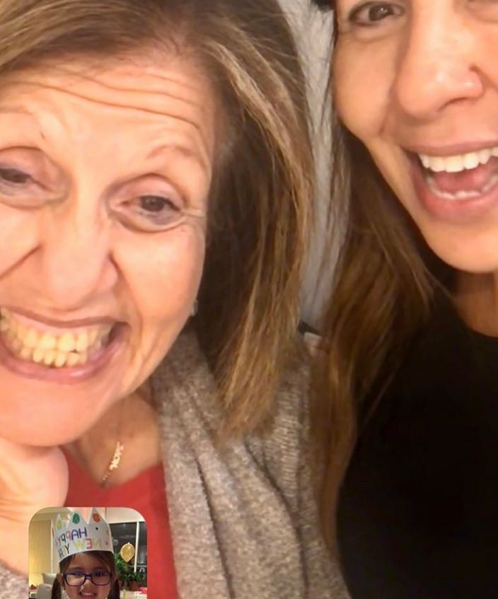 hoda mom and sister facetime