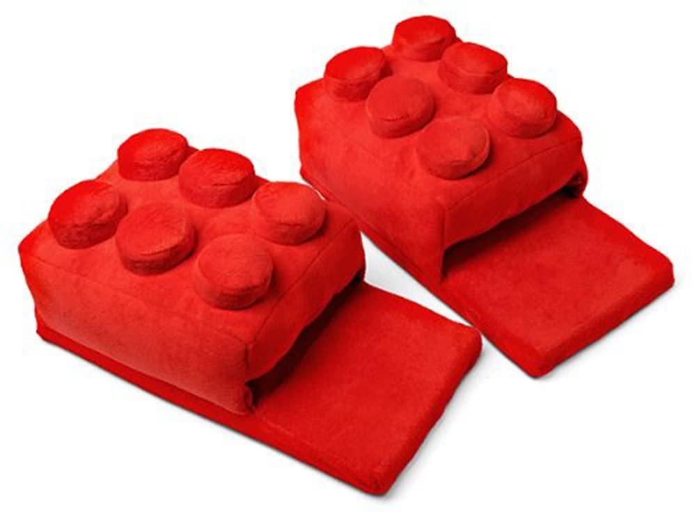 lego block slippers amazon