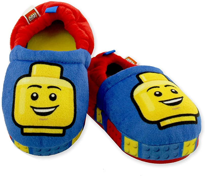 fun lego slippers on amazon