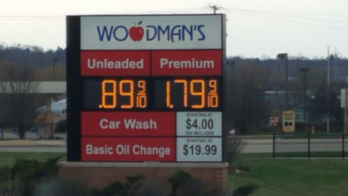 gas prices lowest in four decades for some US states