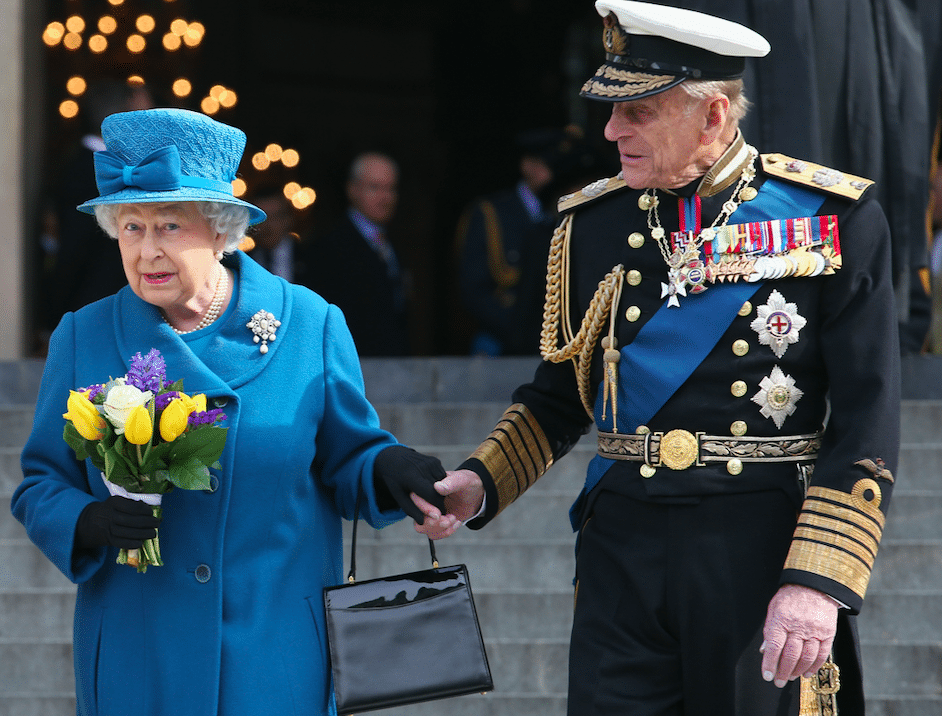 why prince philip likes to be away from queen elizabeth ii