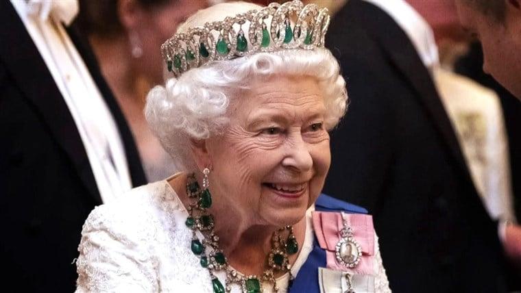 olivia newton-john throwback photo queen elizabeth II birthday