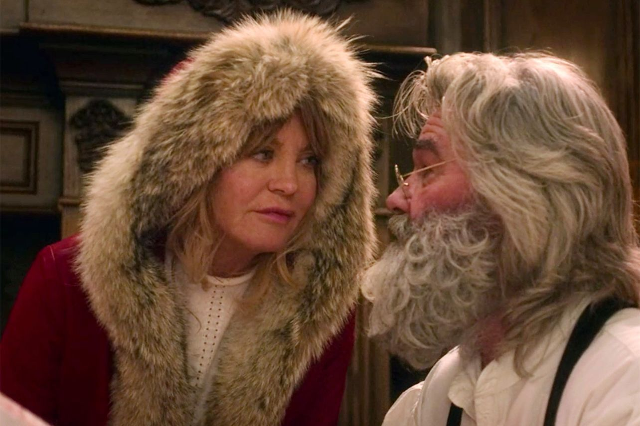 goldie hawn kurt russell the christmas chronicles netflix