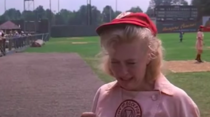 tom hanks iconic line in a league of their own