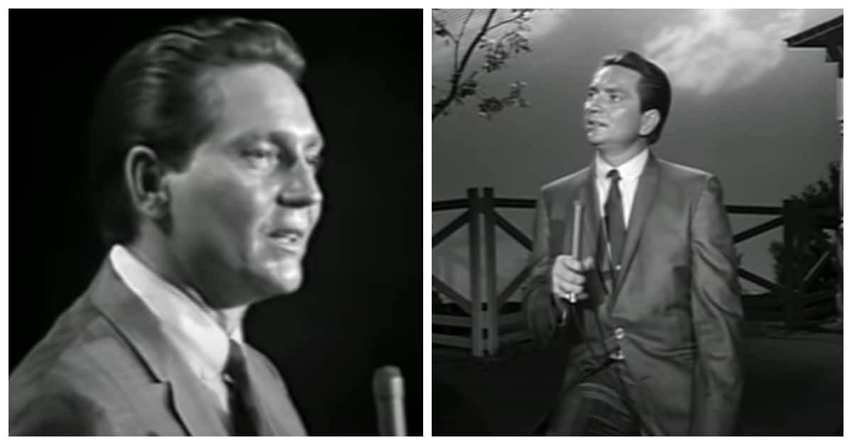 Willie Nelson singing a medley of hits at the Grand Ole Opry in 1965