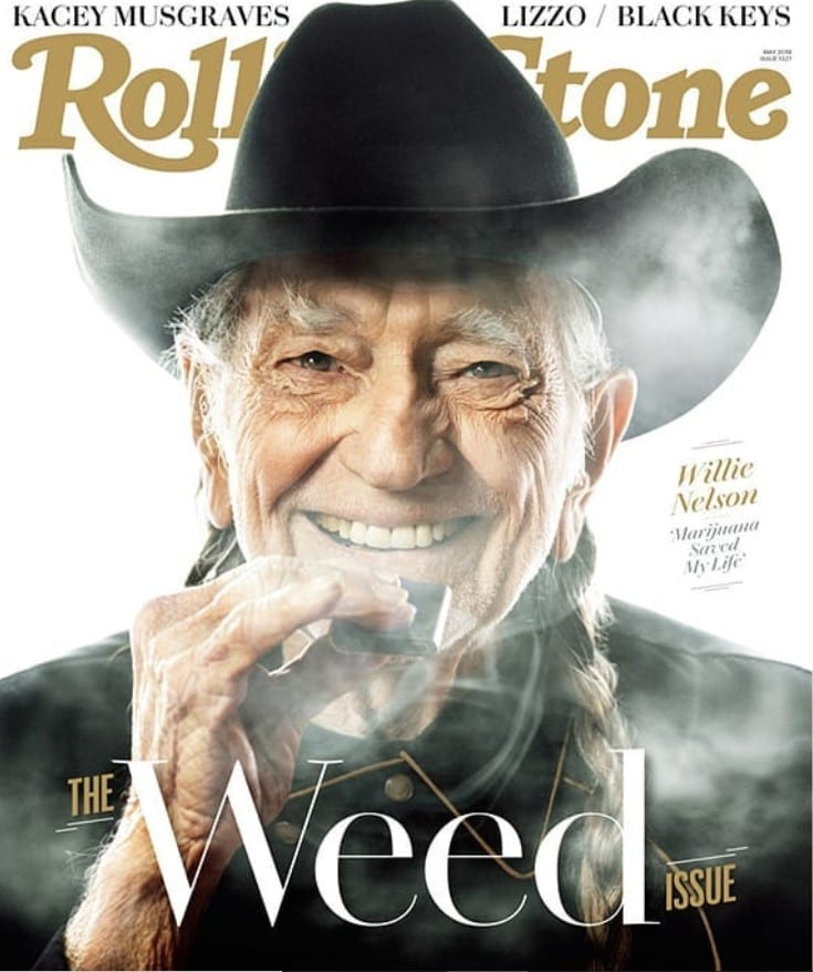 willie nelson rolling stone cover weed issue