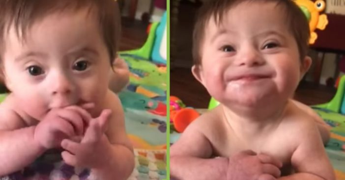 Adopted Baby Girl With Down Syndrome Is Stealing The Hearts Of Everyone With Her Smile